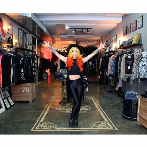 Expect a warm welcome from Megan Massacre at her tattoo studio Grit N Glory in NYC! Photo via Bowery Boogie #MeganMassacre #tattooartist #tattoomodel #nyink #realitytv #megandreamtattoo #meganmassacrecontest