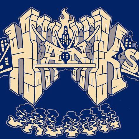 Adam Suerte's design for Hank's Saloon. #adamsuerte #brooklyntattoo #brooklyn