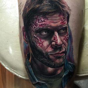 Lucifer Tattoo by Kristian Kimonides #lucifer #supernaturallucifer #supernatural #supernaturalshow #horror #tv #tvseries #portrait #KristianKimonides
