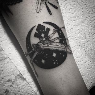 Rebel Alliance Tattoo by Jamie Eddy #RebelAlliance #RebelAllianceTattoo #StarWarsTattoo #ForceAwakens #StarWars #JamieEddy #blackwork