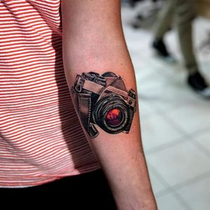 Tattoo made by Mikhail Anderson, owner of First Class Tattoo NYC. #firstclasstattoo #firstclassnyc