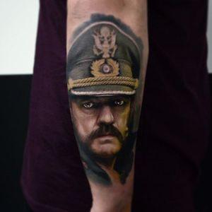 Awesome portrait of Lemmy from Motorhead #portrait #Lemmy #Motorhead #KarolRybakowski