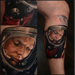 #astronaut #astronauta #NikolayDzhangirov #tatuadorRusso #realismo #realism #brasil #brazil #portugues #portuguese
