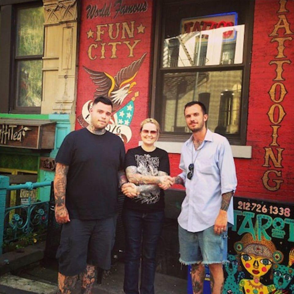 Fun City Tattoo #FunCityTattoo #DaredevilTattooStudio #historiadatattoo #estudiosantigos #curiosidades #estudios