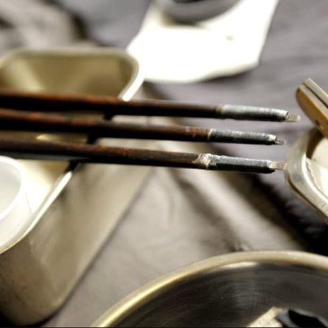 Three nomi prepared for a tebori session. #Irezumi #Japanese #nomi #tebori #traditional