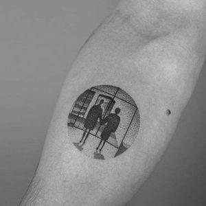 Sabe quem fez essa tattoo? Conta pra gente! #FightClub #clubedaluta  #DavidFincher #HelenaBonhamCarter #MarlaSinger #EdwardNorton