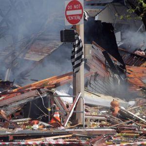 The ArtWork Rebels tattoo studio was demolished in an explosion. #ArtWorkRebels #ArtWork #Portland #PortlandOregon