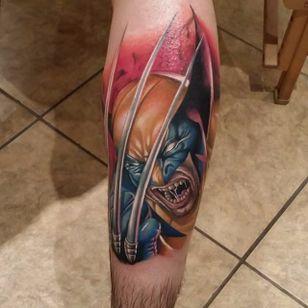 Wolverine tattoo by Poch Tattoos. #realism #colorrealism #PochTattoos #XMen #Wolverine