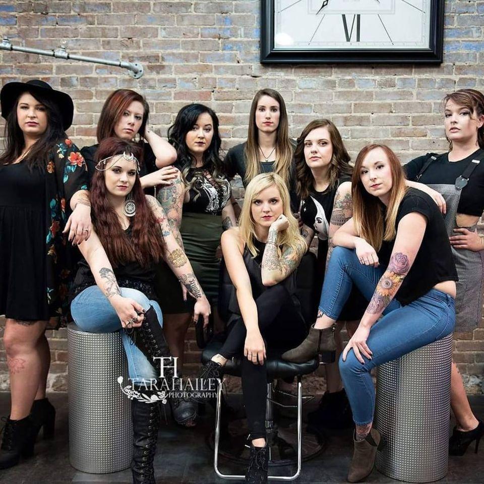 The women of Ink Ink. (via IG—inkinktat) #InkInk #TLC #TattooGirls