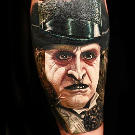 O Pinguim de Batman: O Retorno #NikkoHurtado #gringo #realismo #realism #realismocolorido #pinguim #pinguin #oswaldcobblepot #batman #movie #filme #dc #nerd #geek #DannyDevito #portrait #retrato