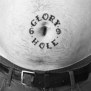 I don't even need to say anything. (via IG -- norskblod_tattoo) #gloryhole #69 #bellybutton #bellybuttontattoo #bellybuttontattoos
