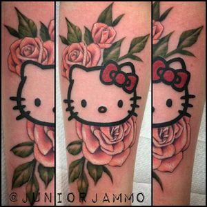 Sanrio tattoo by Major Jammo. #sanrio #adorable #kawaii #cute #hellokitty