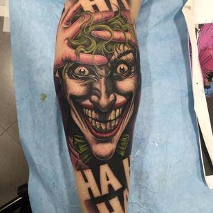 Killing Joke Tattoo by Yarda #thekillingjoke #killingjoke #batman #batmanjoker #joker #dccomics #comicbook #Yarda