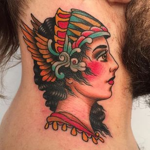 Valkyrie Tattoo by David Bruehl #ValkyrieTattoo #Valkyrie #NorseMythology #NorseTattoos #NordicTattoo #DavidBruehl