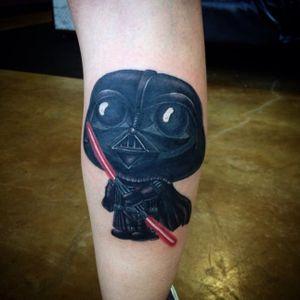 Stewie Griffin tattoo by Eric Ryan #StewieGriffin #EricRyan #FamilyGuy #StarWars #tvshow (Photo: Instagram)