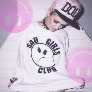 Sad Girls Club by Nikki Lipstick #NikkiLipstick #sad #sadgirl #sadgirlclub #subculture #merch