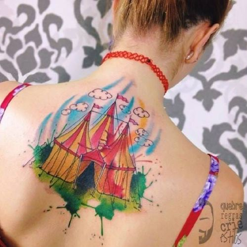 #JoãoVictorMartins #aquarela #watercolor #coloridas #colorful #talentonacional #tatuadorbrasileiro #brasil
