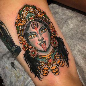 Kali by Xam The Spaniard (via IG-xamthespaniard) #gods #goddesses #hinduism #buddhism #mythology #iconography