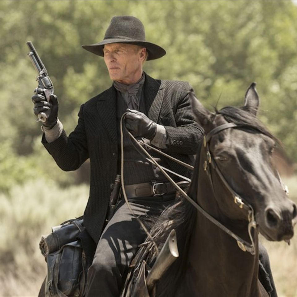 A shot of the Man in Black from HBO's Westworld. #HBO #ManinBlack #Westworld