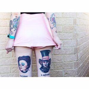 Photo: @thetinylittlegirl – Instagram. #thetinylittlegirl #tattooedwomen #tattooedladies #fashion #fashioninspiration