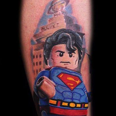 Super Man em Legolismo por Max Pniewski! #MaxPniewski #LigadaJustiça #JusticeLeague #movie #filme #comic #hq #cartoon #nerd #geek #superman #superhomem #lego