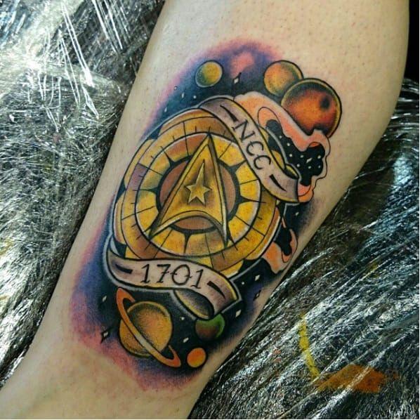 Sabe quem fez essa tatuagem? Conte pra gente! #StarTrek #50thaniversary #50AnosStarTrek