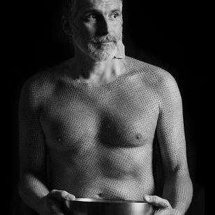 Lovely photo of Alfredo from @larecherchestudio on Instagram #AlfredoMeschi #veganism #activism