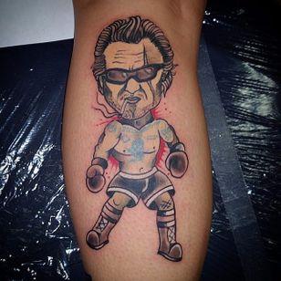 Kurt Russell Tattoo by Jacob Brentzel #kurtrussell #kurtrussellportrait #kurtrussellmovie #movie #film #actor #JacobBrentzel