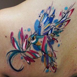 Bird Tattoo by Sebastian Barone #bird #birdtattoo #abstractbird #abstract #abstracttattoo #abstracttattoos #cubism #cubismtattoo #cubismtattoos #abstractcubism #SebastianBarone