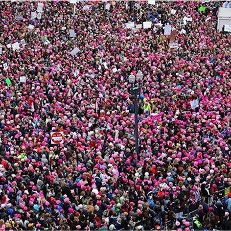 Women's March on Washington D.C. (via IG-womensmarch) #womensmarch #womensmarchonwashington #NikkiLugo #political