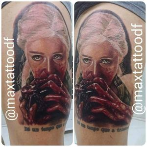 #daenerys #daenerystargaryen #Khaleesi #GameOfThrones #series #NERD #coração #MaxCampos #realismo #TalentoNacional #ElectricInk #brasil