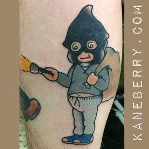 Kewpie burglar by Kane Berry. #traditional #kewpie #kewpiedoll #burglar #KaneBerry