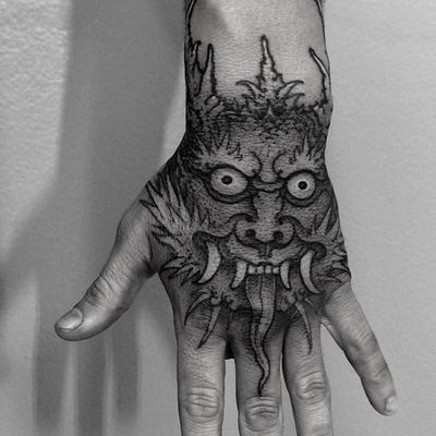 Nice piece by Junior Goussain #JuniorGoussain #dragon #japanese #tattoooftheday