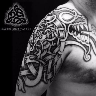 O destino de Loki #SeanParry #viking #nordic #nordico #vikingstyle #tatuagemviking #culturanordica #mitologianordica #loki #god #nordicgod #deusnordico #deus