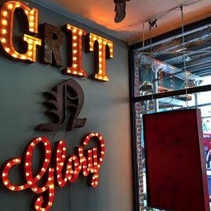 The famous sign @gritnglory #gritnglory #meganmassacre #NY #tattoostudio #studio #NY #nyink