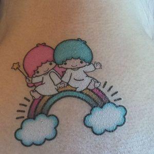 Sanrio tattoo, artist unknown. #sanrio #adorable #kawaii #cute #pink #pastel
