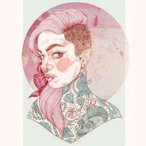 Liz Clements #LizClements #illustration #tattooinspiration