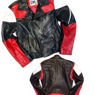 Custom Biker Jacket by Dr. Romanelli (via IG-drxromanelli) #fashion #levis #vintage #tattooinspired #drromanelli #mattmccormick