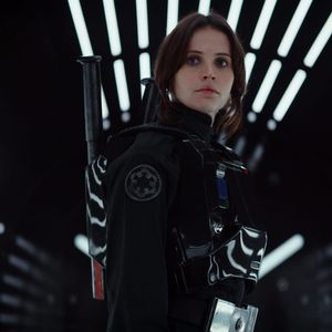 """Felicity Jones as Jyn Erso from """"Rogue One."""" #starwars #rogueone #movies #celebrities"""