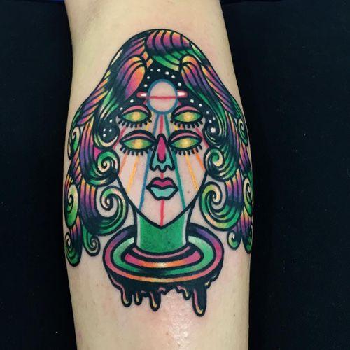 #Raro #gringo #colorido #colorful #neon #fun #divertida #psychedelic #psicodelica #surrealism #surrealism #woman #mulher #deusa #goddess