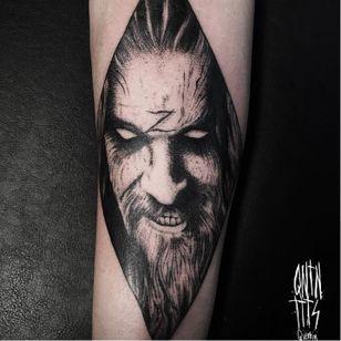 Rad Rob Zombie tattoo by Quentin Aldhui #robzombie #QuentinAldhui #metal #musician #horrormovies #blackwork