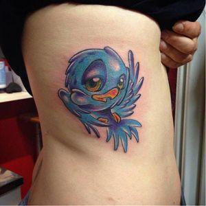 #passaro #bird #RafaelloGarrote #coloridas #TatuadoresDoBrasil #brasil