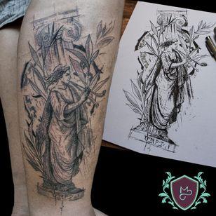 #AndreMelo #tatuadoresdobrasil #sketch #blackwork