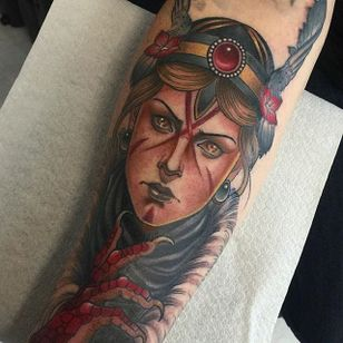 Valkyrie Tattoo by Yonmar #ValkyrieTattoo #Valkyrie #NorseMythology #NorseTattoos #NordicTattoo #Yonmar