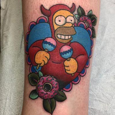 I am evil Homer! I am evil Homer! (Via IG - xinaxiii) #thesimpsons
