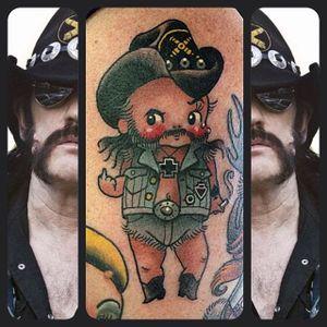 Motorhead kewpie doll #Lemmy #motorhead #StaceyMartinSmith #kewpiedoll #popculture
