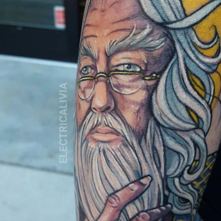 #dumbledore #harrypotter by IG @electricalivia