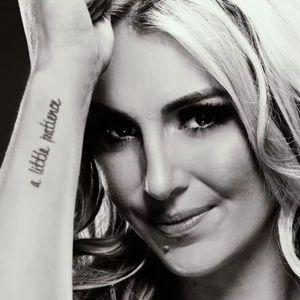 Charlottes's GNR tattoo. #Charlotte #WWE #WWESuperstar #GunsNRoses