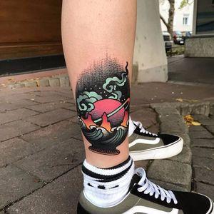 Por David Sz #DavidSz #gringo #psychedelic #psicodelico #colorido #colorful #degrade #pontilhismo #dotwork #planeta #planet #saturno #saturn #onda #wave #ocean #sea #mar #sky #ceu #star #estrela #dark