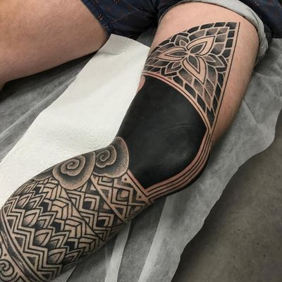 Tribal tattoos by Alvaro Flores #AlvaroFlores #tribaltattoos #blackwork #linework #dotwork #mandala #spiral #geometric #pattern #clouds #floral #natural #shapes #blackfill #tribal #primitive #tattoooftheday